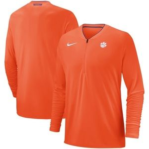 Nike Clemson Tigers 1/2 Zip Pullover Size Large